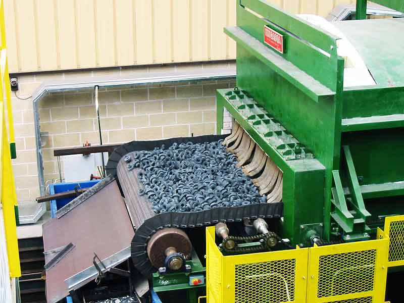 Cast belt furnace - Ingener