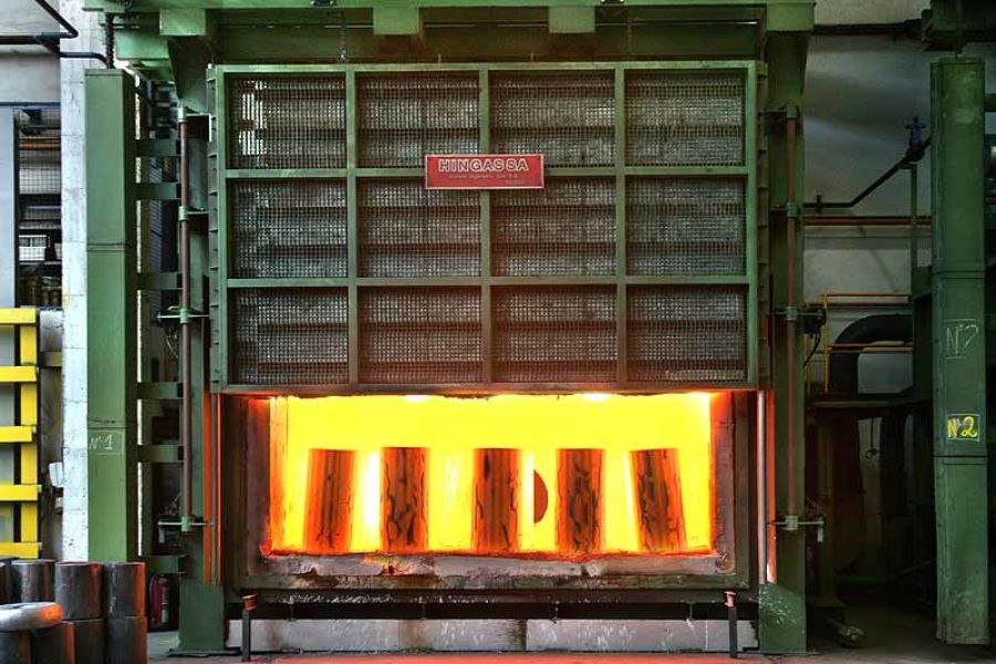 Horno de solera fija 50 toneladas