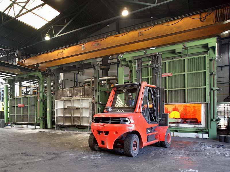 INGENER: Horno de solera fija 50 ton