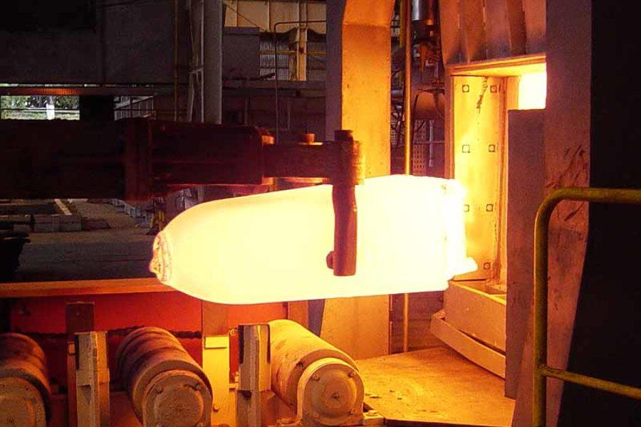 Horno de solera giratoria 25 ton/h