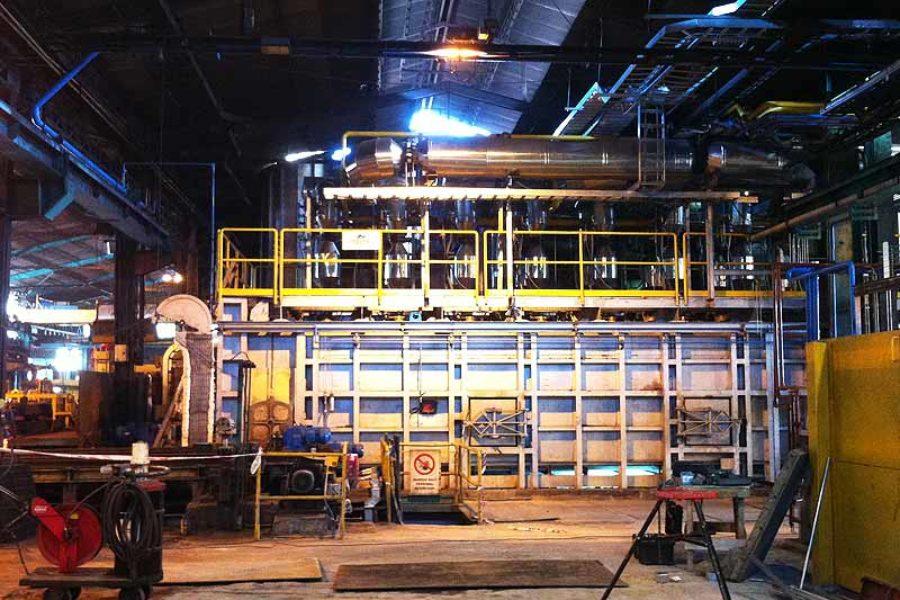 Ampliación horno a 28 ton/h