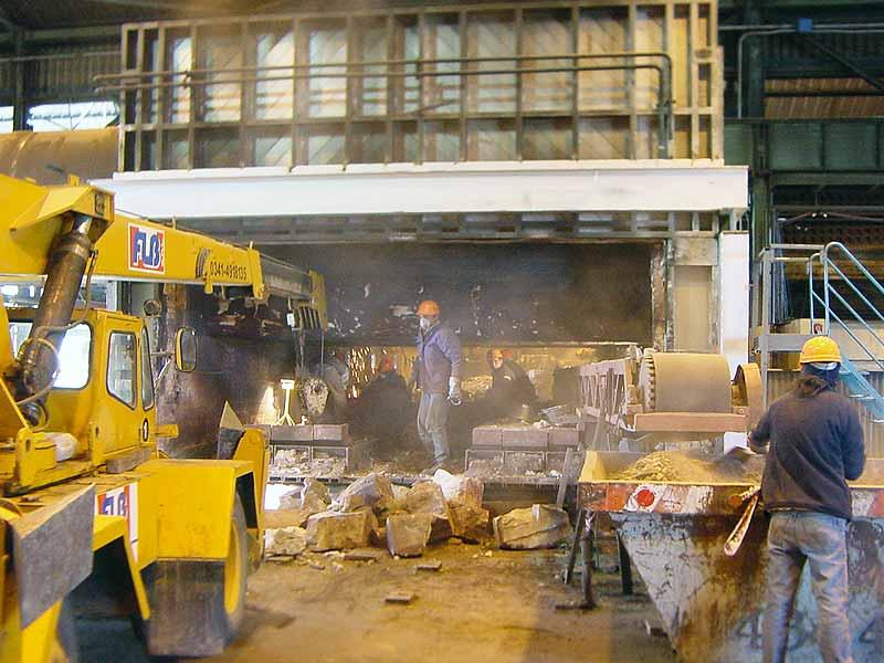 INGENER: Aumento producción de horno a 48 ton/h
