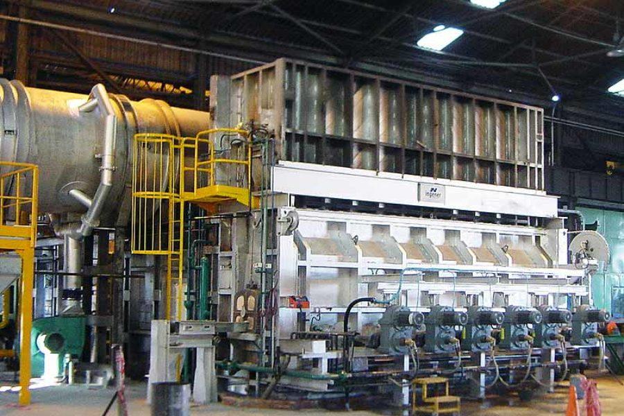 Aumento producción de horno a 48 ton/h