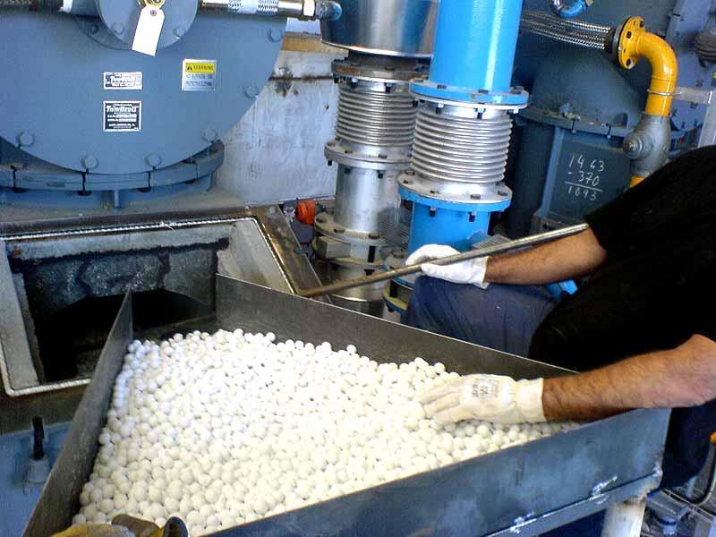 INGENER: Aumento producción de horno a 56 ton/h