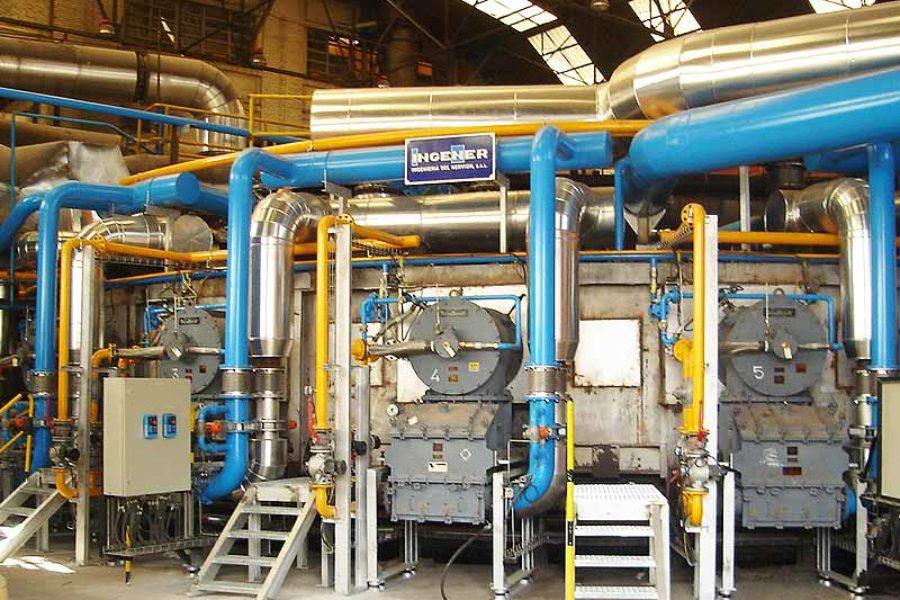 Aumento producción de horno a 56 ton/h