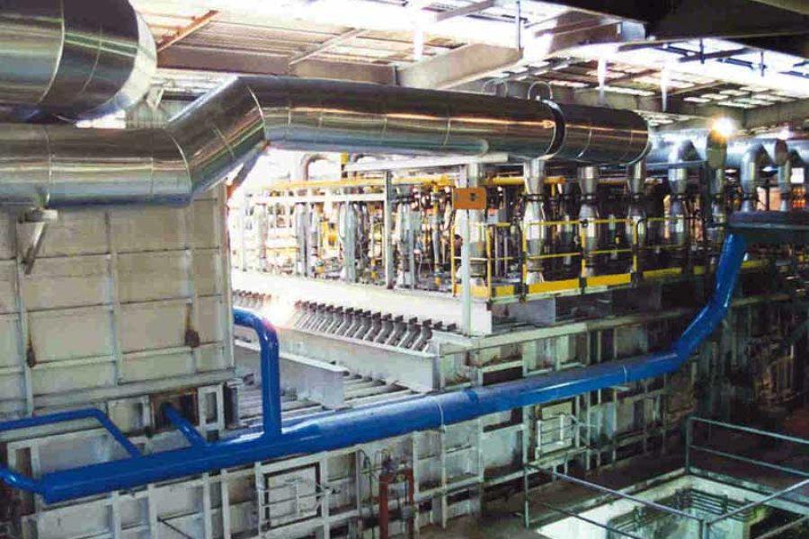 Aumento producción de horno a 70 ton/h