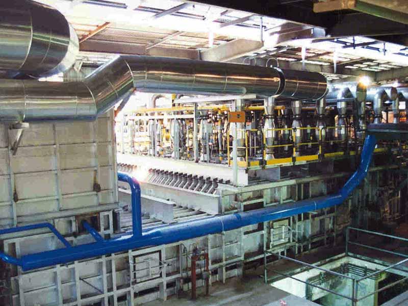 INGENER: Aumento producción de horno a 70 ton/h