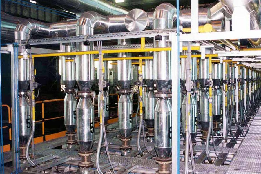 Sustitución de equipo de calentamiento