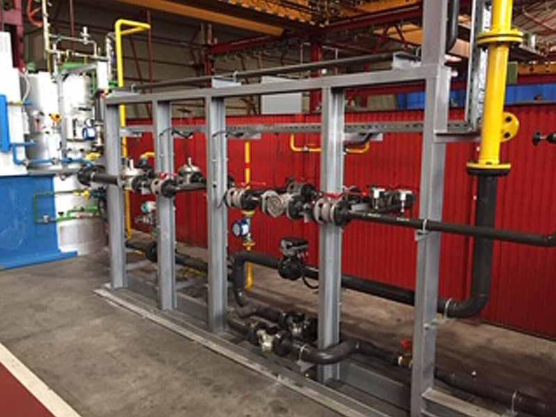 INGENER: Sustitución de gas de atmósfera en horno de tratamiento de tubos