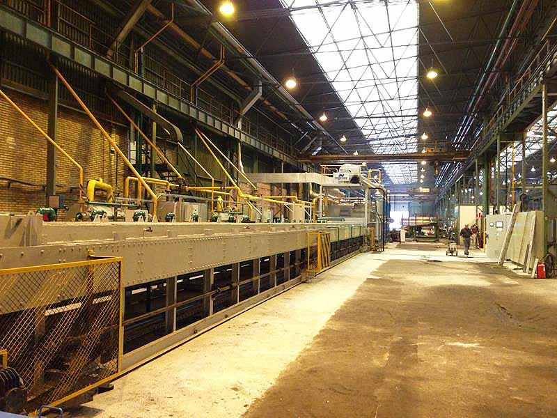 INGENER: Traslado y modernización de horno de tratamiento de tubos