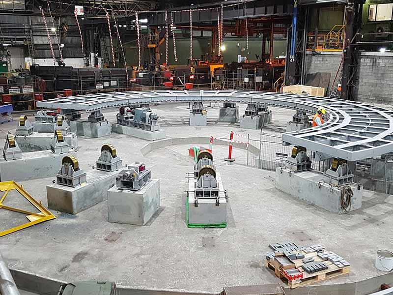 INGENER: Gestión y supervisión del montaje de hornos industriales
